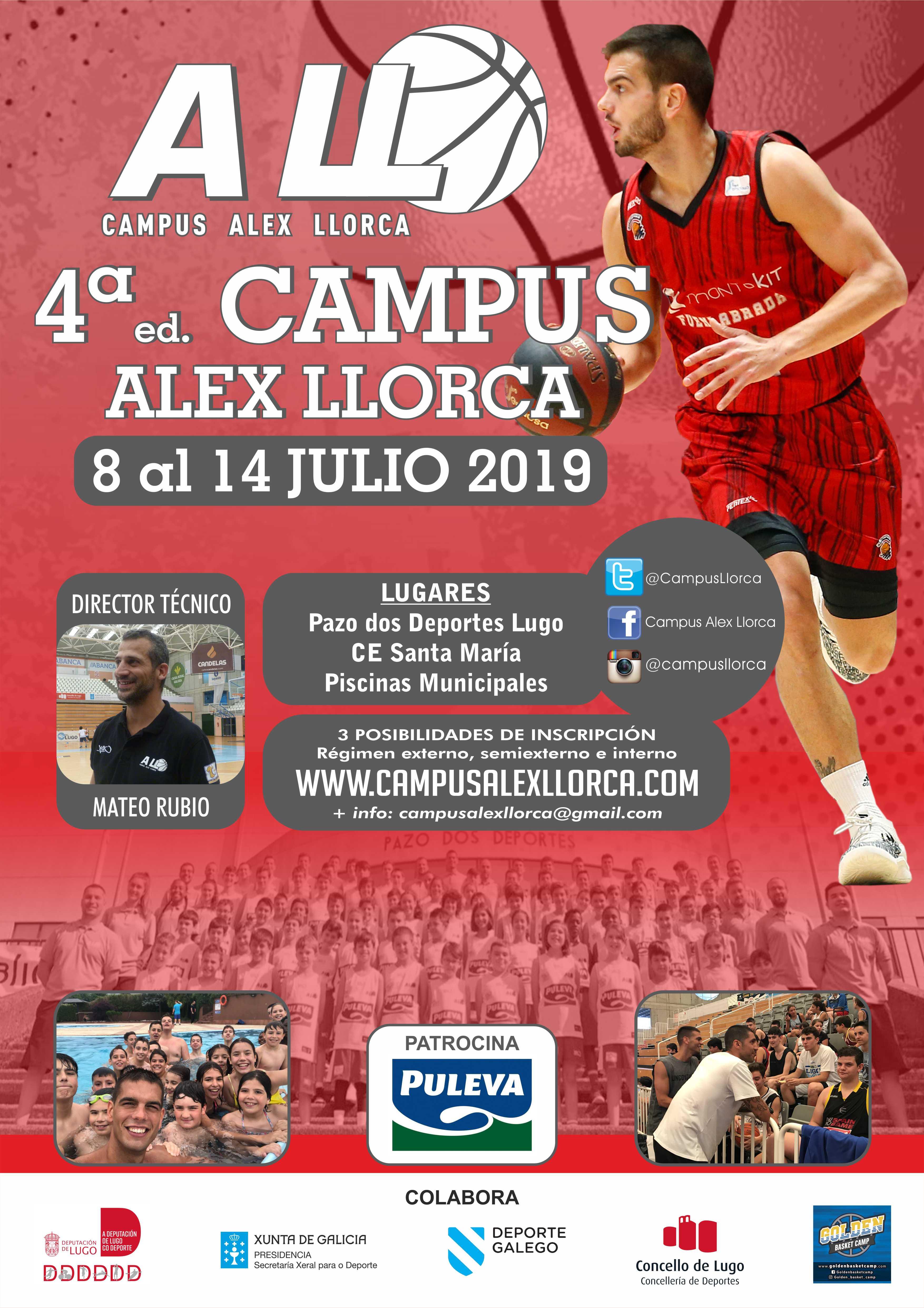 Grupo de trabajo de la cuarta edición de Campus Álex Llorca